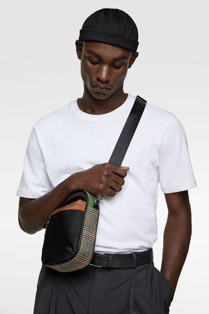 Zara Mini-umhängetasche mit karomuster