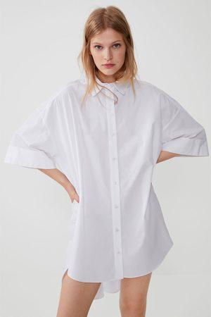 Zara Oversize-popelinhemd