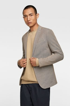 Zara Herren Blazer & Sakkos - Basic-blazer mit strukturmuster