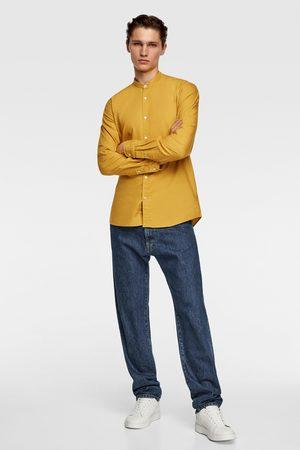 Zara Herren Business - Oxfordhemd mit stehkragen