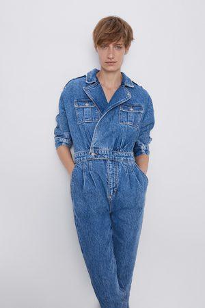 Zara Overall '80s arizona blue