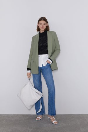 Zara Blazer mit taschen