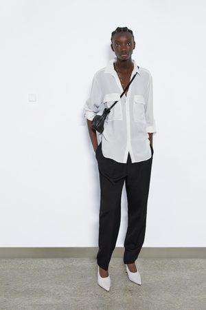 Zara Gestreifte bluse