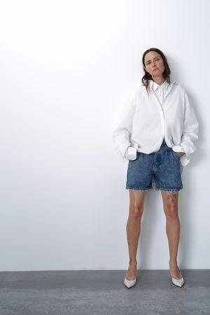 Zara Shorts '80s arizona blue