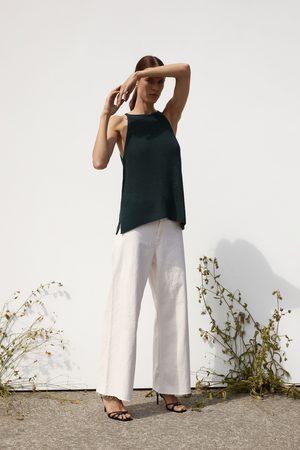 Zara Neckholder-oberteil aus strick