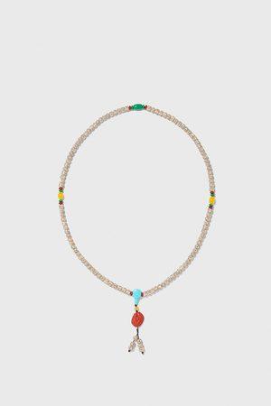 Zara Halskette mit verschiedenen schmuckperlen