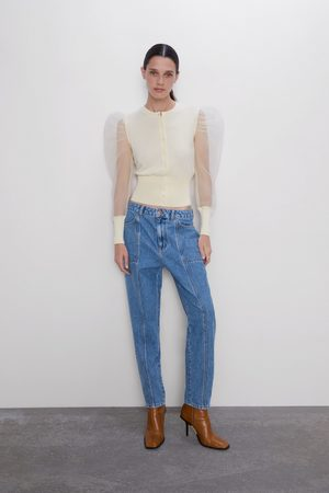 Zara Mom-fit-jeans z1975 mit taschen