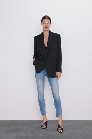 Zara Damen High Waisted - Jeans zw premium '80s high waist old blue