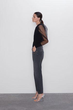Zara Damen Baggy & Boyfriend - Jeans z1975 mom-fit