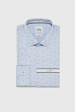 Zara Hemd mit blumenprint