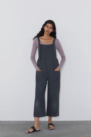 Zara Langer overall mit taschen