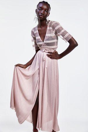 Zara Langes strickkleid