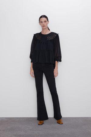 Zara Ausgestellte jeans z1975