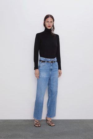 Zara Jeans z1975 mit gürtel