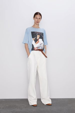 Zara Shirt mit elvis presley™-print