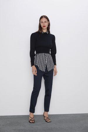 Zara Hose mit elastischem bund
