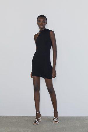 Zara Minikleid mit zierausschnitten