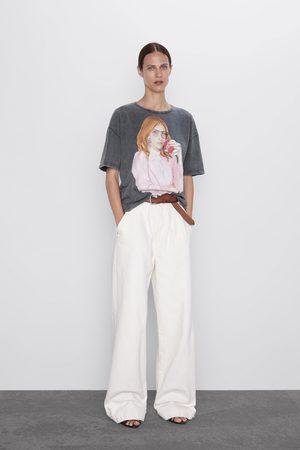Zara Shirt mit ® coca-cola-print