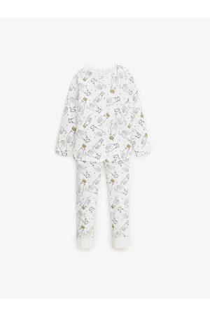 Zara Schlafanzug mit katzen und glitzerdetails