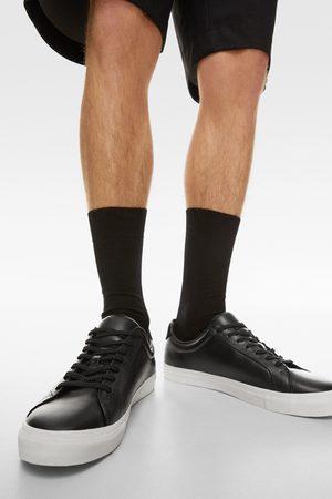 Zara Ledersneaker in