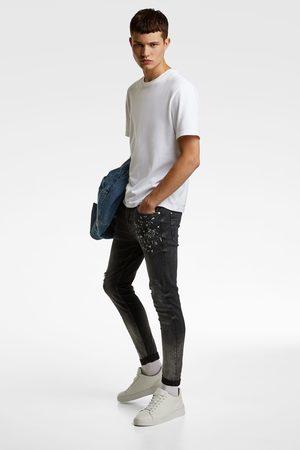 Zara Skinny-jeans in verwaschener optik