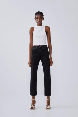 Zara Slim-fit-jeans mit hohem bund