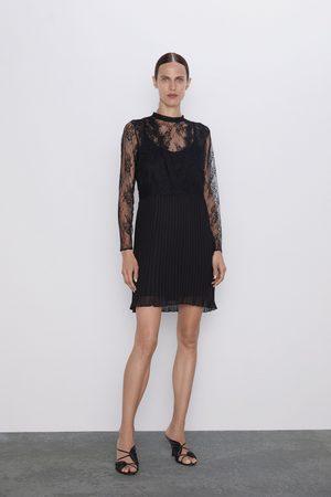 Zara Kleid mit spitze