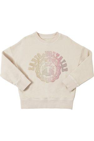 Zadig & Voltaire Verziertes Sweatshirt Aus Baumwolle