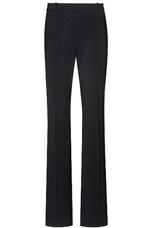 HUGO BOSS Regular-Fit Hose aus leicht gekämmter Stretch-Schurwolle