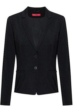 HUGO BOSS Regular-Fit Blazer aus knitterfreier Stretch-Schurwolle