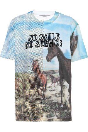 Stella McCartney Bedrucktes T-Shirt aus Baumwolle