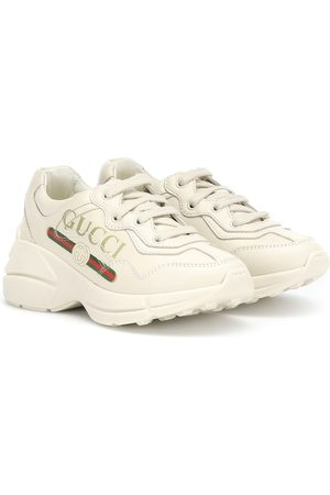 Gucci Sneakers Rhyton aus Leder