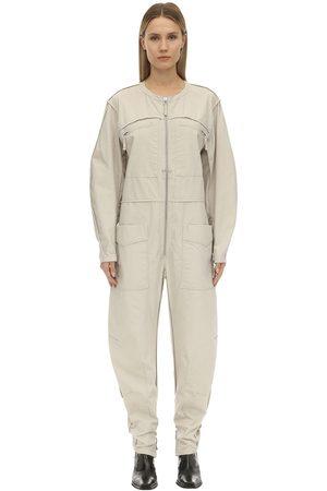 Isabel Marant Leiko Cotton Canvas Jumpsuit
