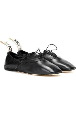 Loewe Schnürschuhe aus Leder