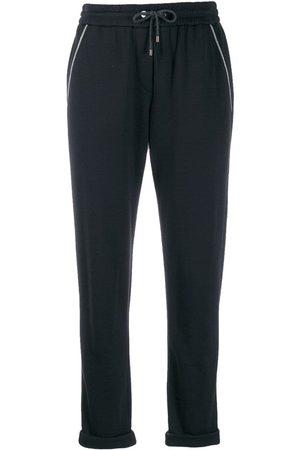 Brunello Cucinelli Damen Jogginghosen - Jersey tapered sweatpants