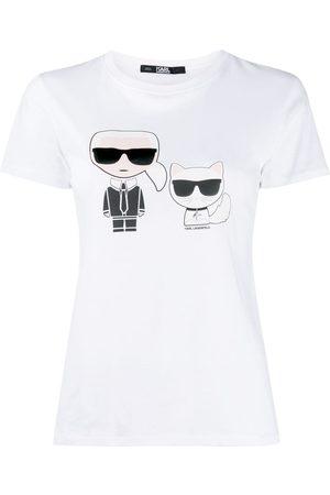Karl Lagerfeld Ikonik Karl & Choupette T-shirt