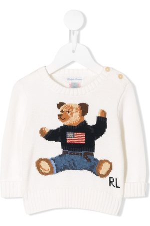 Ralph Lauren Shirts - Bear embroidered jumper