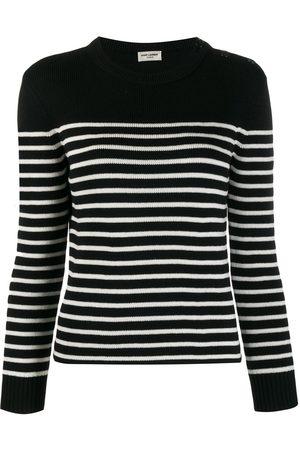 Saint Laurent Striped knitted jumper