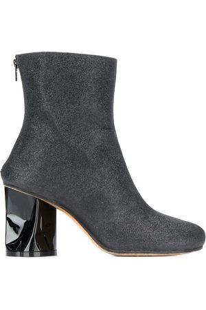 Maison Margiela Damen Stiefeletten - Crushed heel ankle boots