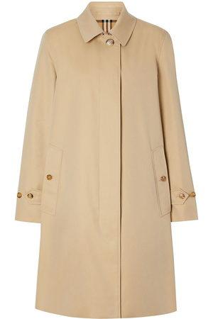 Burberry Damen Trenchcoats - Gabardine car coat