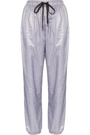Natasha Zinko High-waisted motif track pants
