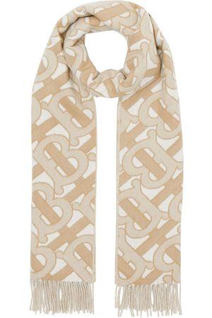 Burberry Schals - Monogram fringed scarf
