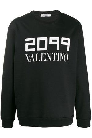 VALENTINO 2099 logo printed sweatshirt