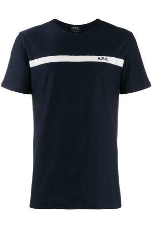 A.P.C Contrasting stripe T-shirt