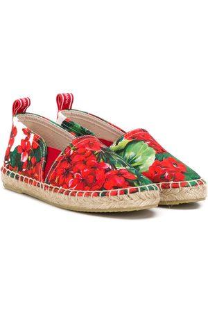 Dolce & Gabbana Floral espadrilles