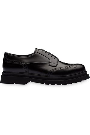 Prada Lug-sole brogues