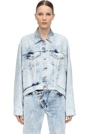 MARQUES'ALMEIDA Oversized Jacke Aus Baumwolldenim