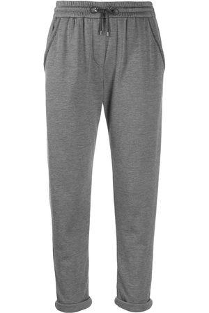 Brunello Cucinelli Damen Jogginghosen - Jersey sweatpants
