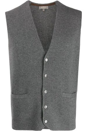 N.PEAL Herren Tops - Cashmere Carnaby knitted vest
