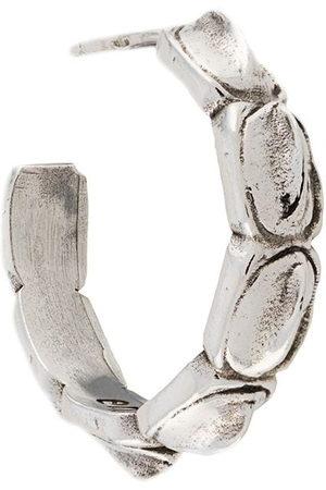 EMANUELE BICOCCHI Croc hoop earring